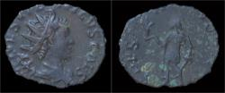 Ancient Coins - Tetricus II billon antoninianus Spes advancing left