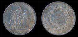World Coins - France 10 francs 1968- Hercules.