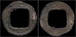 Ancient Coins - Indonesia Sumatra Song Dynasty tin cash of the Emperor Zhen Zong.