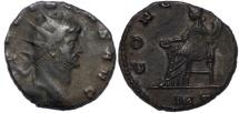 Ancient Coins - Gallienus billon antoninianus Concordia seated left