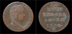 World Coins - Austrian Netherlands Brabant Maria-Theresia 1 oord (liard)1750.