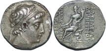 Ancient Coins - Seleucid Kingdom Demetrios II AR tetradrachm