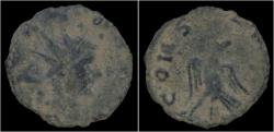 Ancient Coins - Divo Claudio AE antoninianus eagle