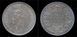 World Coins - India King George VI rupee 1941.