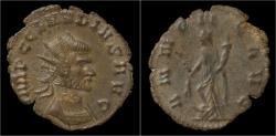Ancient Coins - Claudius II Gothicus billon antoninianus Annona standing left