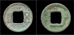 Ancient Coins - China Western Han Dynasty goose eye Ji Mu Wu Shu