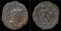 Ancient Coins - Victorinus billon antoninianus Sol standing left