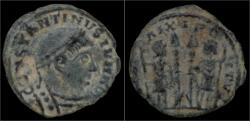 Ancient Coins - Barbaric radiates Barbaric follis of Constantine II
