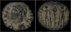 Ancient Coins - Constans AE half follis
