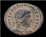 Ancient Coins - Constantine I AE follis Sol standing left