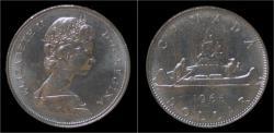 World Coins - Canada 1 dollar 1968- voyageur.