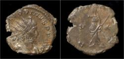 Ancient Coins - Victorinus billon antoninianus Pax standing left