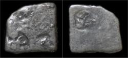 Ancient Coins - Mauryan Empire AR drachm (karshapana)