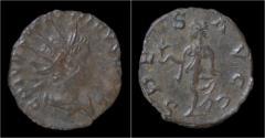 Ancient Coins - Tetricus II billon antoninianus Spes walking left