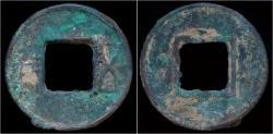 Ancient Coins - China Eastern Han dynasty bronze wu zhu