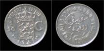 World Coins - Netherlands Indies 1/10 gulden 1941S