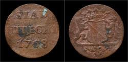 World Coins - Netherlands Utrecht duit 1768