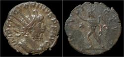 Ancient Coins - Victorinus billon antoninianus Sol standing left.