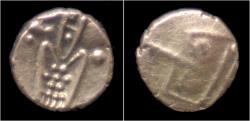 World Coins - India Dutch VOC company AV fanam.