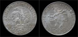 World Coins - Mexico 25 pesos 1968- Summer olympics 1968.