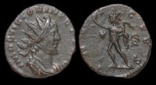 Ancient Coins - Victorinus billon antoninianus Sol advancing left