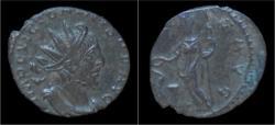 Ancient Coins - Victorinus billon antoninianus Salus standing left