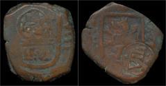 World Coins - Spain Philip IV VIII maravedis 1624.