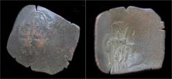Ancient Coins - Isaac II Angelus billon aspron trachy