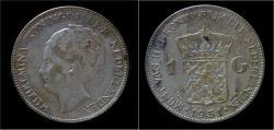 World Coins - Netherlands Wilhelmina I 1 gulden 1931