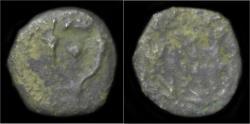 Ancient Coins - Judaea Hasmonean Dynasty Alexander Jannaus AE prutah