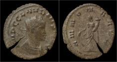 Ancient Coins - Claudius II Gothicus billon antoninianus Annona standing left.