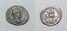 Ancient Coins - silver denarius from Caracalla ric 108   2,9grs rare revers for caracalla