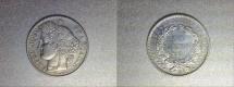 World Coins - silver 50 centimes ceres 1950 A paris mint
