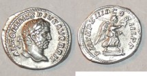 Ancient Coins - silver denarius for caracalla ric 185