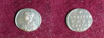 Ancient Coins - half follis constantius II ric 490 r4 trier mint 16mm 1,6grs