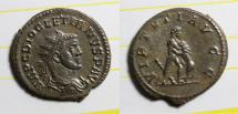 Ancient Coins - antoninianus diocletianus LYON mint bastien 209 1 exemplar listed Ric UNLISTED