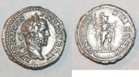 Ancient Coins - silver denarius for caracalla ric 191
