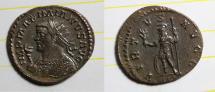 antoninianus maximianus bastien 581 7 ex ric 447 LYON mint nice buste
