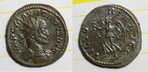 Ancient Coins - antoninianus for CARUS bastien 499 2 exemplars listed ric 22 rare revers lyon mint