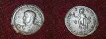 Ancient Coins - ae follis from Constantinus Ier ARLES ARELATE MINT ric UNLISTED for the bust type