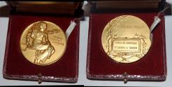 World Coins - ae medal from Jean VERNON ecole de coiffure  50mm bronze