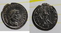 Ancient Coins - antoninianus for diocletianus bastien 143  52 ex ric 53   FDC lyon mint