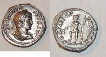 Ancient Coins - silver denarius for caracalla ric 80b