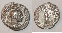 Ancient Coins - silver denarius for elagabalus ric 131