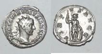 Ancient Coins - silver antoninianus for volusianus volusian ric 206  virtus augg
