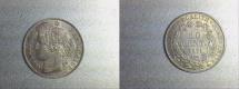 World Coins - silver 50 centimes ceres oudiné 1871 K Bordeaux mint rare