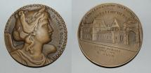 World Coins - ae medal from A RIVAUD 68 mm arts et metiers bronze medal 1940 1941