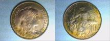 World Coins - bronze 10 centimes DUPUIS 1900