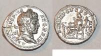 Ancient Coins - silver denarius for caracalla ric 196