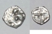 Ancient Coins - silver obol volcae tectosages